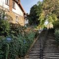 "4 charming stairways will take you up to the ""Campagne à Paris"""
